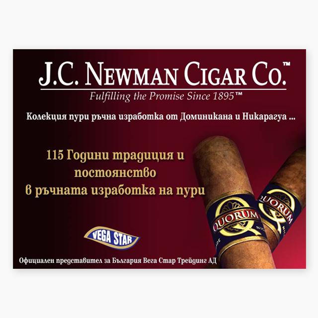 J.C. Newman banner